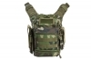 VISM First Responder Bag, EDC Tactical Bag, Woodland Camo, New.