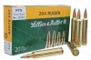 204 Ruger S&B 32gr Ammo PTS, 20rd Box.