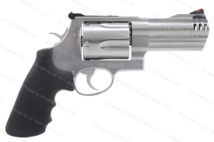 "Smith & Wesson 500 Revolver, 500 S&W, 4"" Barrel, Stainless, Excellent, S&W, Used."