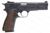 Browning HI-Power Semi Auto Pistol, 9mm, Polished Blued, Belgian Made, Excellent, Used.