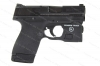 "Smith & Wesson M&P Shield 2.0 Semi Auto Pistol With Light & Safe, 9mm, 3.1"" Barrel, Thumb Safety, Black, New, S&W."