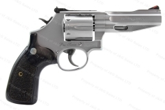 "Smith & Wesson 686SSR Pro-Series Revolver, 357 Magnum, 4"" Barrel, 6-Shot, Stainless, VG+, Used, S&W."
