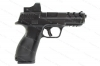 "EAA Girsan MC28SAT, Semi Auto Pistol, 9mm, 4.25"" Barrel, Black, Vented Slide With Optic, Excellent, Used"