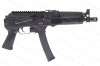 "Kalashnikov USA, Black KP-9 AK Pistol, 9mm, Stamped Receiver, 1/2""x28TPI threaded barrel, New."
