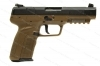 "FNH Five Seven MKII Semi Auto Pistol, 5.7x28mm, 4.75"" Barrel, FDE, 3 Mags, Excellent, Used."