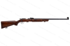 "BRNO Model 3 Bolt Action Target Rifle, 22LR, 27.5"" Heavy Barrel, Target Sights, Walnut Bench Stock, Exc, C&R, Used."