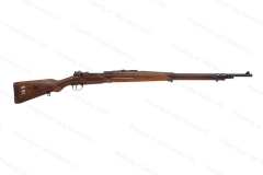 "Czech 98/22 Mauser Bolt Action Rifle, 8x57, 29"" Barrel, German/Turkish Markings, C&R, G-VG, Used, #B"