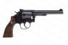 "Smith & Wesson K22 Masterpiece Revolver, 22LR, 6"" Barrel, Blued, Adjustable Sights, VG, Used, S&W."