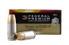 9mm Federal HST 124gr+P JHP Ammo, 50rd Box. P9HST3