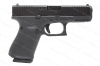 Glock 19 9mm Gen 5 Semi Auto Pistol, nDLC Finish, Front Slide Serrations, Black, New.