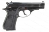 "Beretta 81 ""Cheetah"" Semi Auto Pistol, 32ACP, 3.75"" Barrel, Blued, Black Grips, Good, Used."