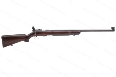 "BRNO Model 3 Bolt Action Target Rifle, 22LR, 27.5"" Heavy Barrel, Rear Peep Sight, Walnut Bench Stock, Exc, C&R, Used."