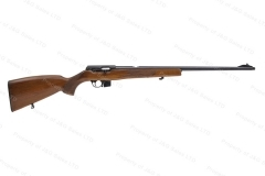 "CZ 511 Lux Semi-Auto Rifle, 22LR, 22"" Subsonic Marked, Wood Stock, Polished Blued, VG, Used."
