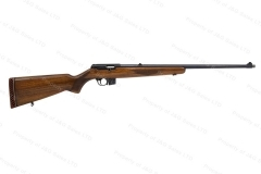 BRNO 581 Semi-Auto Rifle, 22LR, Blued, Threaded Muzzle, Checkered Wood Stock, Rubber Buttpad, G-VG, Used. #B