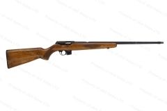 BRNO 581 Semi-Auto Rifle, 22LR, Blued, Threaded Muzzle, Checkered Wood Stock, G-VG, Used. #C
