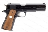 "Colt 1911 Government MKIV/Series 70 Semi Auto Pistol, 45ACP, 5"" Barrel, Blued, VG+, Used."