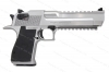 "Magnum Research Desert Eagle MK XIX Semi Auto Pistol, 50AE, Stainless Steel, 6"" Barrel, New."