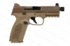 "FNH 509 Tactical Semi Auto Pistol, 9mm, 4.5"" Barrel, FDE, New."