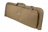 "VISM Deluxe Rifle Case, 36"" Tan, With Covered Mag & Accessory Pouches, New."