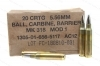 5.56mm Federal MK318 Mod1 OTM, 20rd Box, 62gr SOST Barrier Ammo.