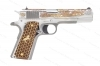 "Colt 1911 Dragon Semi Auto Pistol, 38 Super, 5"" Barrel, Gold-Copper-Silver Inlays, New."