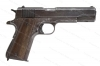 "Remington Rand 1911A1 Semi Auto Pistol, 45ACP, 5"" Barrel, Parkerized, US Property Marked, C&R, G-VG, Used."