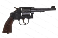 "Smith & Wesson 38/200 K-200 British Service Revolver, 38S&W, 5"" Barrel, C&R, VG, Used, S&W."