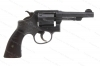 "Smith & Wesson Victory Revolver, 38 Special, 4"" Barrel, ""U.S. Navy"" Marked, Parkerized, C&R, G-VG, Used, S&W."