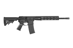 "LWRC IC-DI Semi Auto AR Style M4 Rifle, 5.56, 16"" Spiral Fluted Barrel, Collapsible Stock, New."