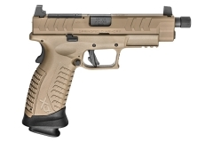 "Springfield Armory XDM OSP Elite Semi Auto Pistol, 9mm, 5.3"" Barrel, Threaded, 22rd Mags, FDE, New."