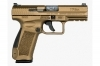 Canik TP9-DA 9mm Semi Auto Pistol, Single Action TP9DA, Bronze, Decocker, by CAI, New.