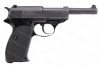 Manurhin P1 Semi Auto Pistol, 9mm, Black, German Markings, Chuck Taylor Estate, VG, Used.