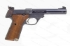 "High Standard Supermatic Series 107 Citation Military Semi Auto Pistol, 22LR, 5.5"" Barrel, VG, Used."