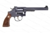 "Smith & Wesson K38 Target Masterpiece Revolver, 38 Special, 6"" Pinned Barrel, 5-Screw, Blued, C&R, VG+, Used, S&W."