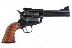 "Ruger® Blackhawk® New Model Convertible Revolver, 45LC/45ACP, 4 5/8"" Barrel, Blued, Excellent, Used."