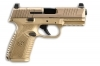 "FNH 509 Midsize MRD Semi Auto Pistol, 9mm, 4"" Barrel, FDE, New."