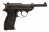 Walther P38 Semi Auto Pistol, 9mm, CYQ, Spreewerke Production, C&R, Gunsmith Special, Used.