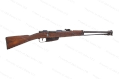 "Italian Carcano M.91 Cavalry Carbine, 6.5x52, 17.7"" Barrel, Folding Bayo, C&R, G-VG, Used."