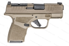 Springfield Armory Hellcat OSP Semi Auto Pistol, 9mm, Night Sight, Optic Cut, 11/13rd Mags, New.