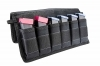 VISM Magazine Carrier Pouch, Hold 6 Pistol Mags, Black.