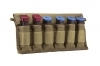 VISM Magazine Carrier Pouch, Hold 6 Pistol Mags, Tan.