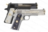 Colt 1911 Heritage Classic Series, Two Pistol Set, One Blue, One Stainless, 38 Super, New.