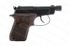 Beretta 21A Semi Auto Pistol, 22LR, Tip-up  Threaded Barrel, Matte Black, Wood Grips, New.