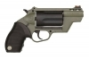 Taurus Judge Public Defender Poly Revolver, 45LC/410, Green Frame, New.