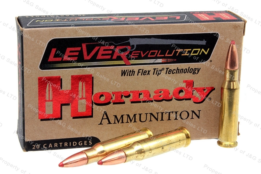 308 Marlin Express Hornandy, 160gr Flex Tip Ammo, 20rd Box.