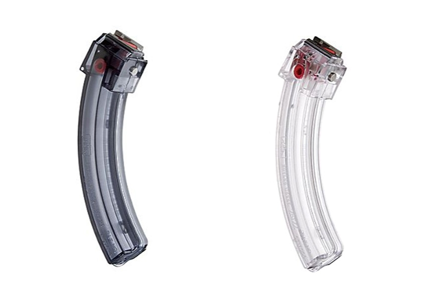 Butler Creek 10/22® Steel Lip 25rd Magazine, Clear or Smoke, New.