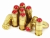 45ACP Tracer, FMJ Ammo, Red, 10rd pack.