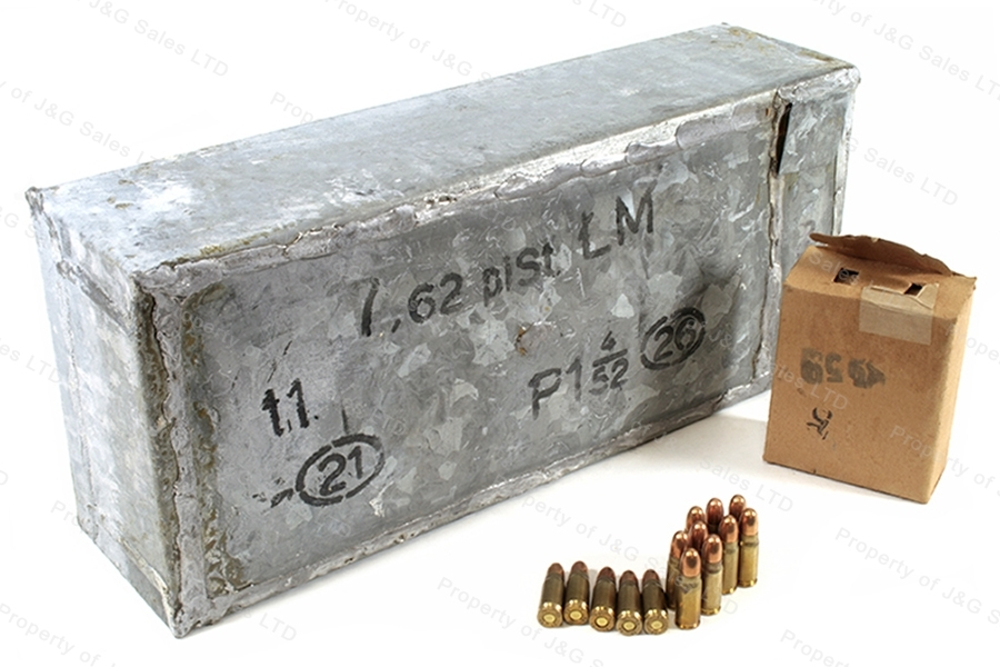 7.62x25 Tokarev Polish FMJ Ammo, 1260rd in Can.