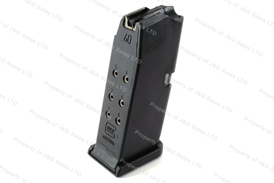 Glock 27 40S&W 9rd Gen 4 Factory Magazine, Black, New.