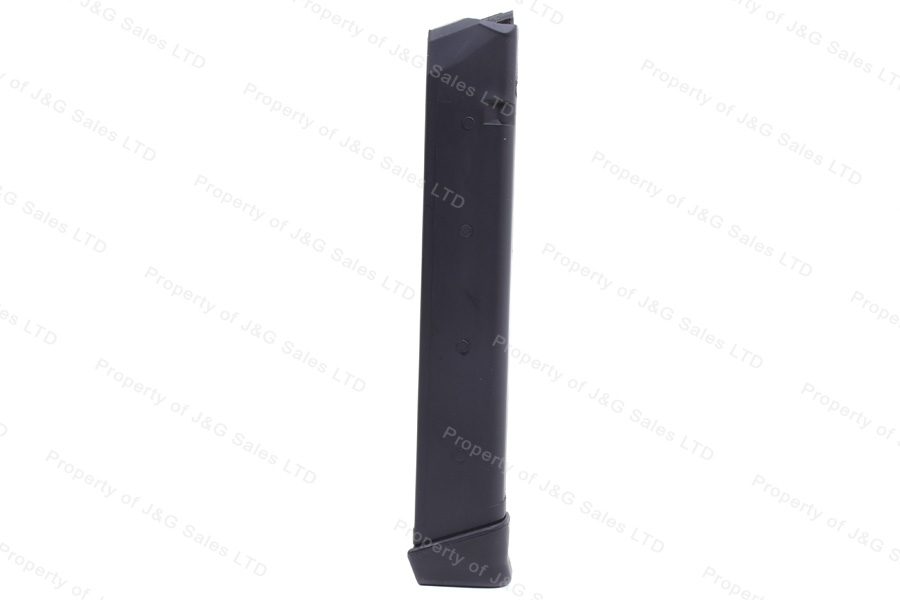 Glock 18 9mm 33rd Gen 3 KCI Korean Magazine, Black, New.